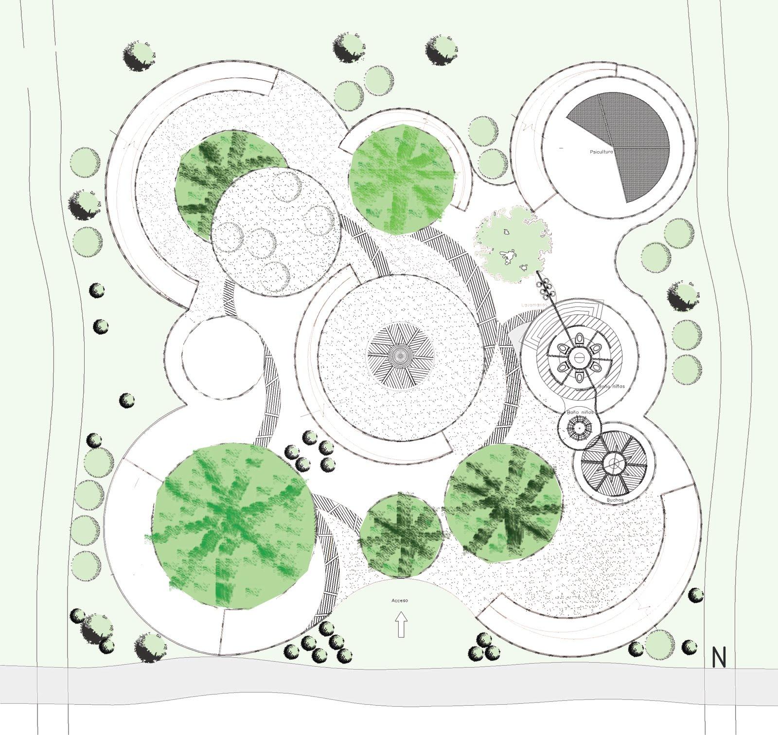 Setas novogranatense planta arquitect nica an lisis for Planta arquitectonica biblioteca