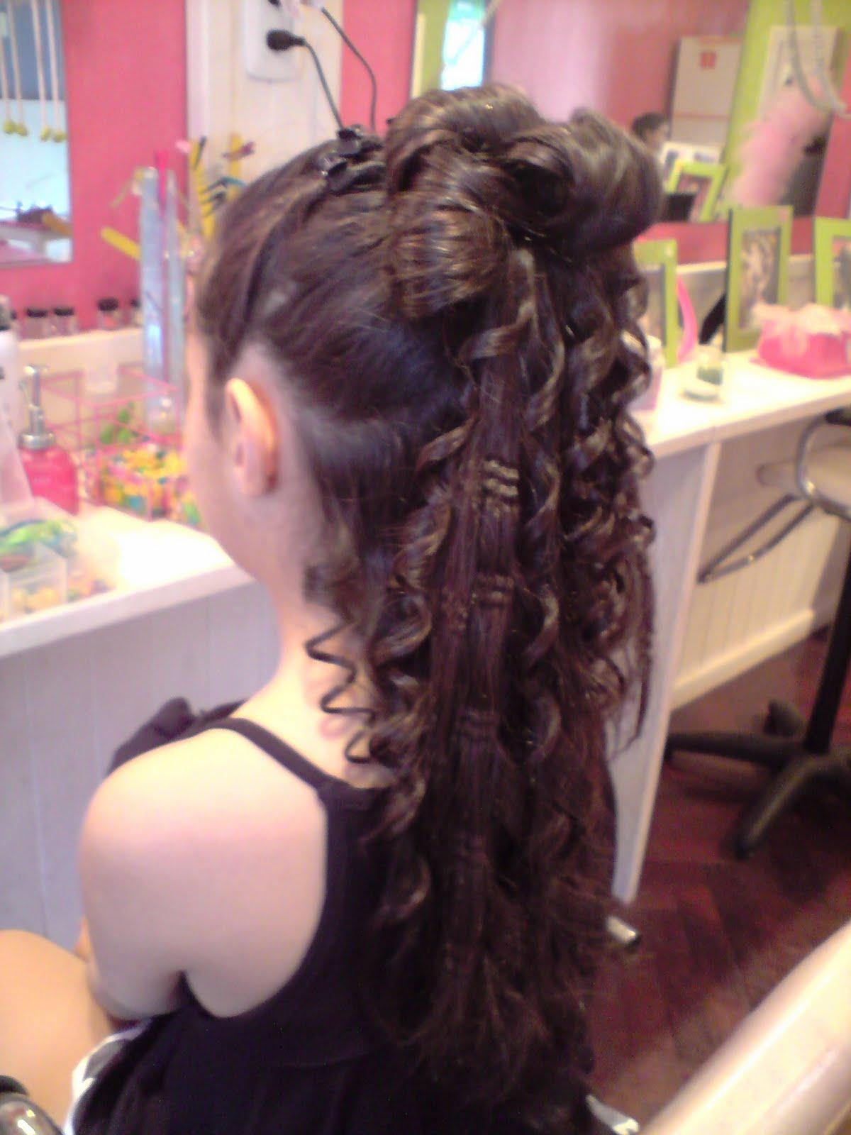 Peinados para fiestas de 15