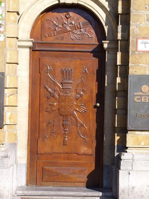 Porte d'entrée banque CBC