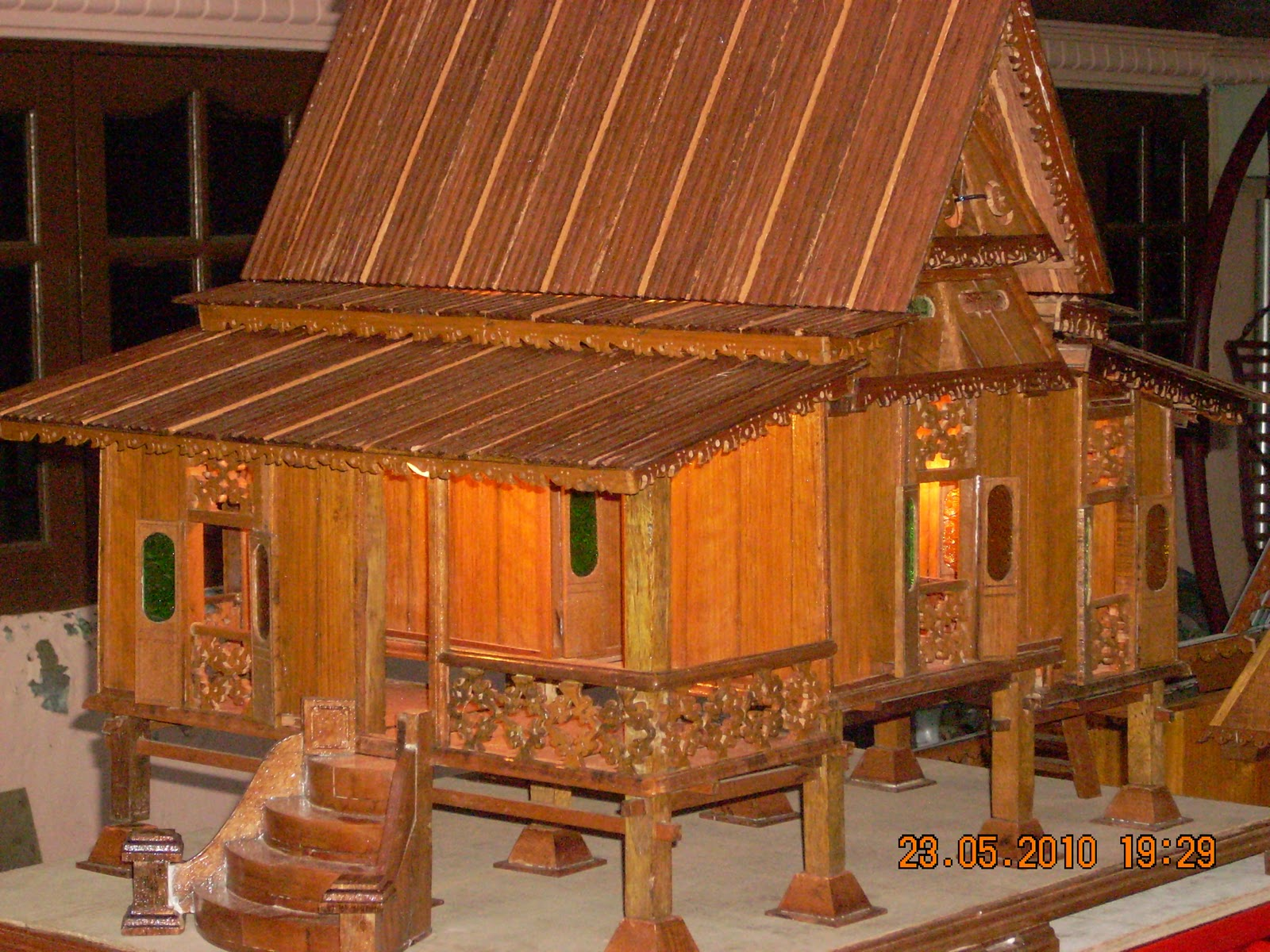 chacha marbha replika rumah traditional melayu melaka 3
