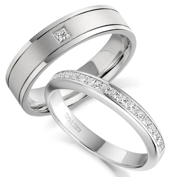 Inexpensive Wedding Ring Sets For Him And Her