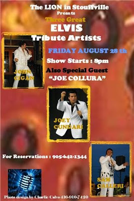 Three Great ELVIS Tribute Artists at The Lion in Stouffville Lionstouffville%20threegreatelvis