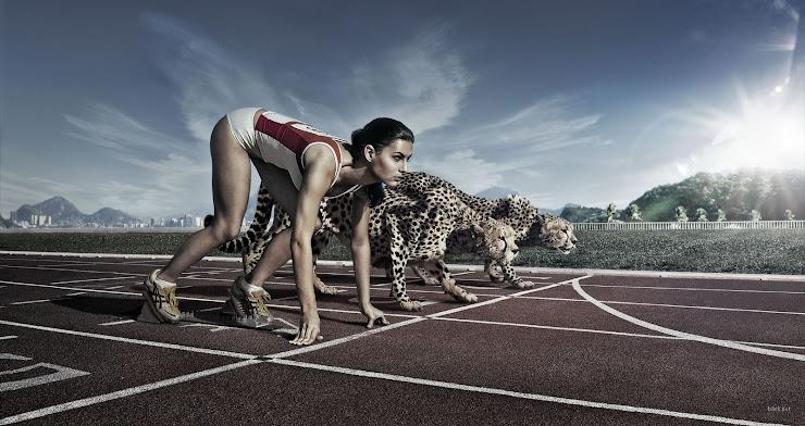 """""""A maior vitória na competição é derivada da satisfação interna de saber que  fizeste o teu melhor"""""""