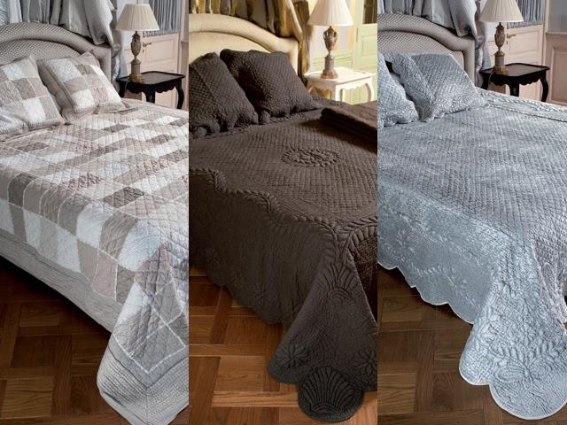 Linge de maison couvre lit en boutis nappe rideaux for La ligne verte linge de maison