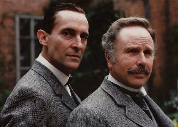 Image result for jeremy brett and edward hardwicke