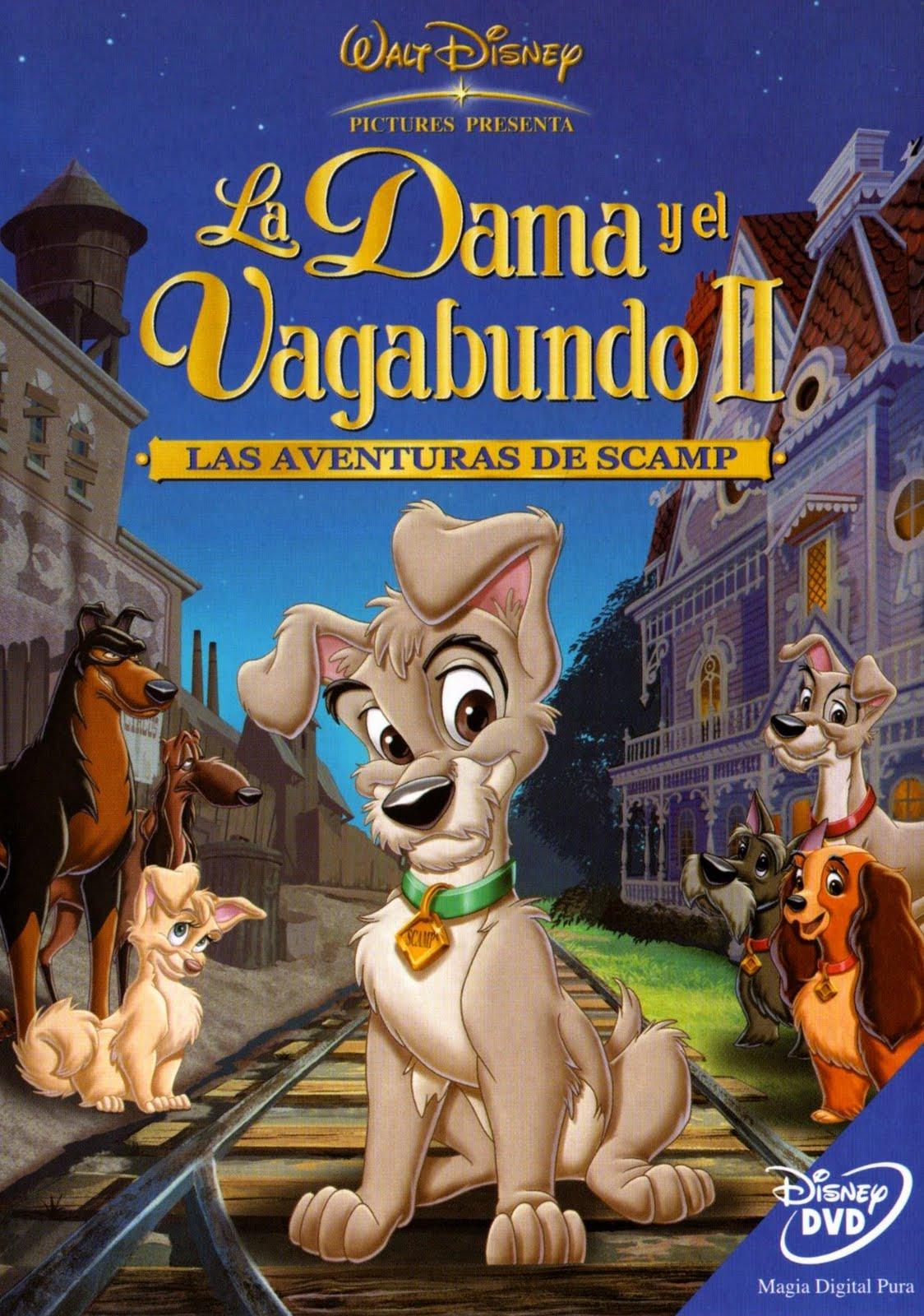 caratula dvd dama vagabundo: