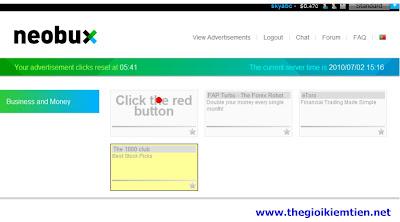 5 Hướng dẫn kiếm tiền trên mạng với Neobux chi tiết A Z
