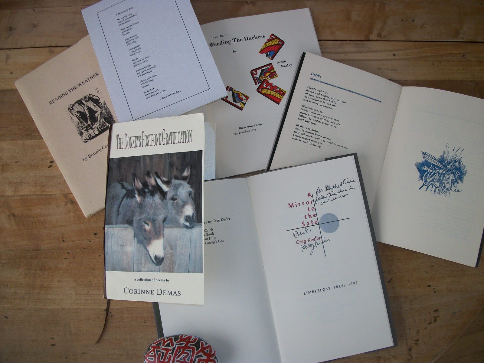 Chapbooks poetry as artifact blythe woolston for Poetry chapbook template