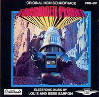 Forbidden Planet, Planeta Prohibido, banda sonora, ost