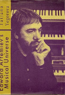 Edward Artemiev retratado en la portada de Edward Artemiev's Musical Universe