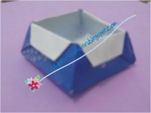 cesta origami