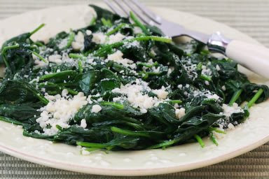 Stir-Fried Spinach