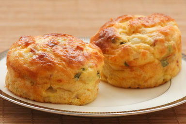 ... Cottage Cheese and Egg Breakfast Muffins Recipe with Ham and Cheddar
