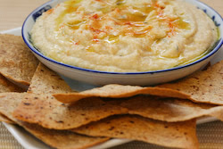 White Bean and Artichoke Dip Recipe with Homemade Whole Wheat Tortilla ...