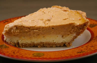 Reduced-Sugar Pumpkin Cheesecake