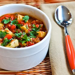 30 Minute Spicy Red Fish Stew (Low-Carb, Gluten-Free, Paleo) found on ...