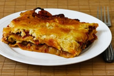 ... Lasagna Recipe with Quick-Roasted Tomato, Garlic, and Herb Sauce