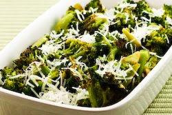 Easy Roasted Broccoli Recipe with Lemon and Pecorino-Romano Cheese ...