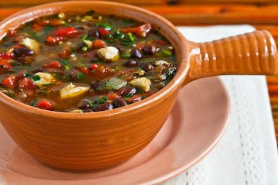 Crockpot Black Bean Stew