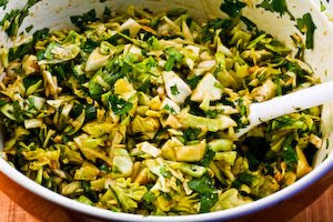 Spicy Cilantro-Peanut Slaw Recipe — Dishmaps