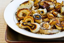 ... Recipe for Marinated and Roasted Vidalia Onion Rings with Parmesan