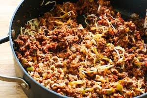Kalyn's Kitchen®: Meat, Tomato, and Mozzarella Stuffed Zucchini Cups