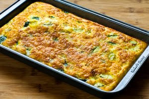Zucchini and Green Chile Breakfast Casserole Recipe (Low-Carb, Gluten ...