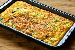 Zucchini and Green Chile Breakfast Casserole Recipe (Low ...