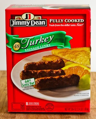 Jimmy Dean Low-Fat and Pre-Cooked Turkey Link Sausage