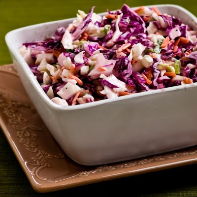 Kalyn's Kitchen®: Spicy Lime Coleslaw Recipe (Low-Carb, Vegan, Dairy ...