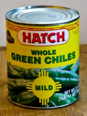 Green Chilis in a can