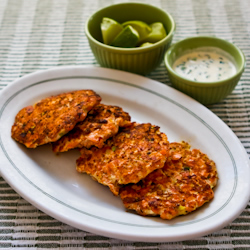 Asian Flavored Wild Salmon Patties with Ginger, Scallions, and Sesame ...