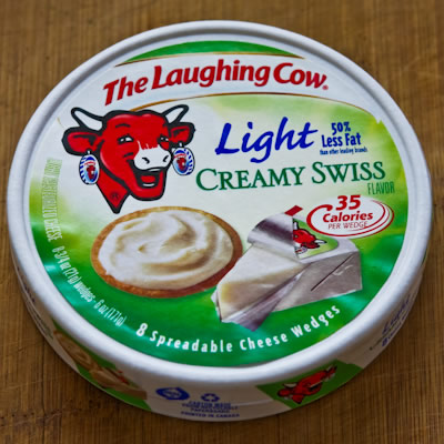 Laughing Cow Light Creamy Swiss Spreadable Cheese