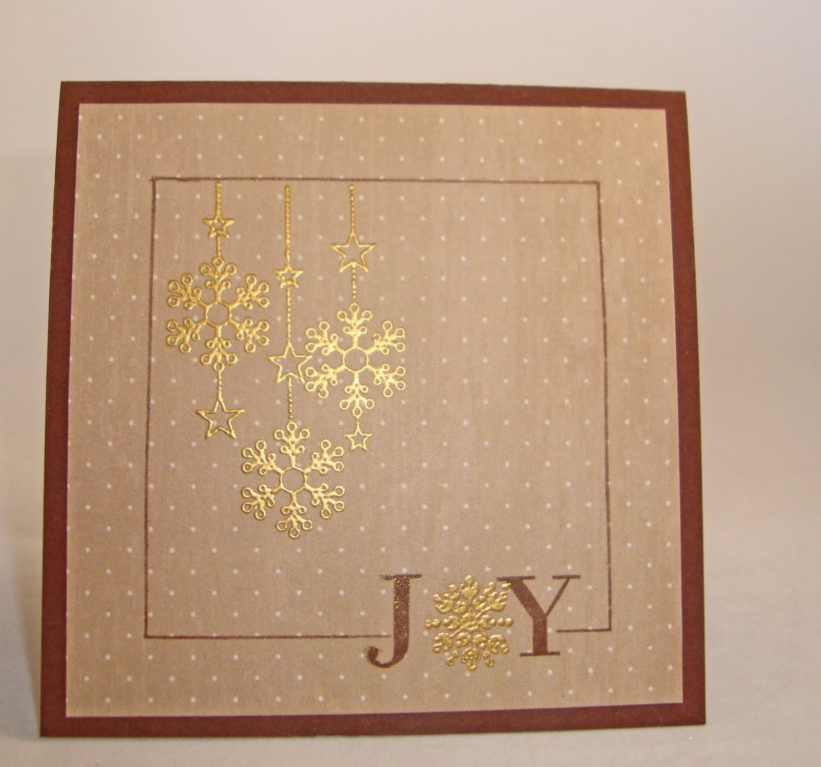 Empty Next Crafter: Clean and Simple Christmas Cards