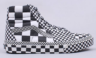 Skate Hi Shoes Vans Black And White