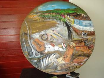 O mundo gira com a Arte da Musa das cores Tropicais!!