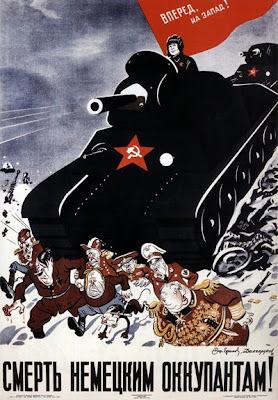 Смерть немецким оккупантам!  Долгоруков Н. А. ,  Ефимов (Фридлянд) Б. Е. 1942