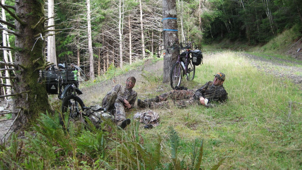 Mountain Bike Hunting Pacific Northwest Bowhunting