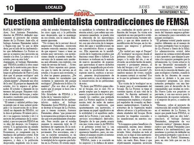 CONTRADICCIONES DE FEMSA