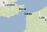 Mappa del Canale della Manica