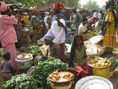 mercato a Garango