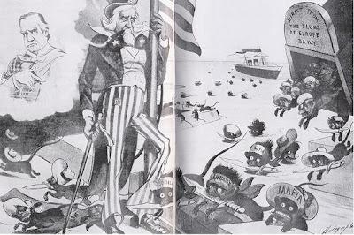 La discarica senza legge: l'invasione giornaliera dei nuovi immigrati direttamente dai bassifondi d'Europa, Judge, 6 giugno 1903