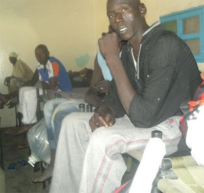 Detenuti al campo di Nouadhibou, 2006