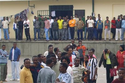Detenuti a Misratah