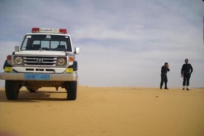 Pattuglie nel deserto
