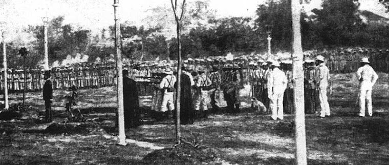 THE EXECUTION OF DR. JOSE RIZAL