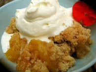 Peach Mango Crisp