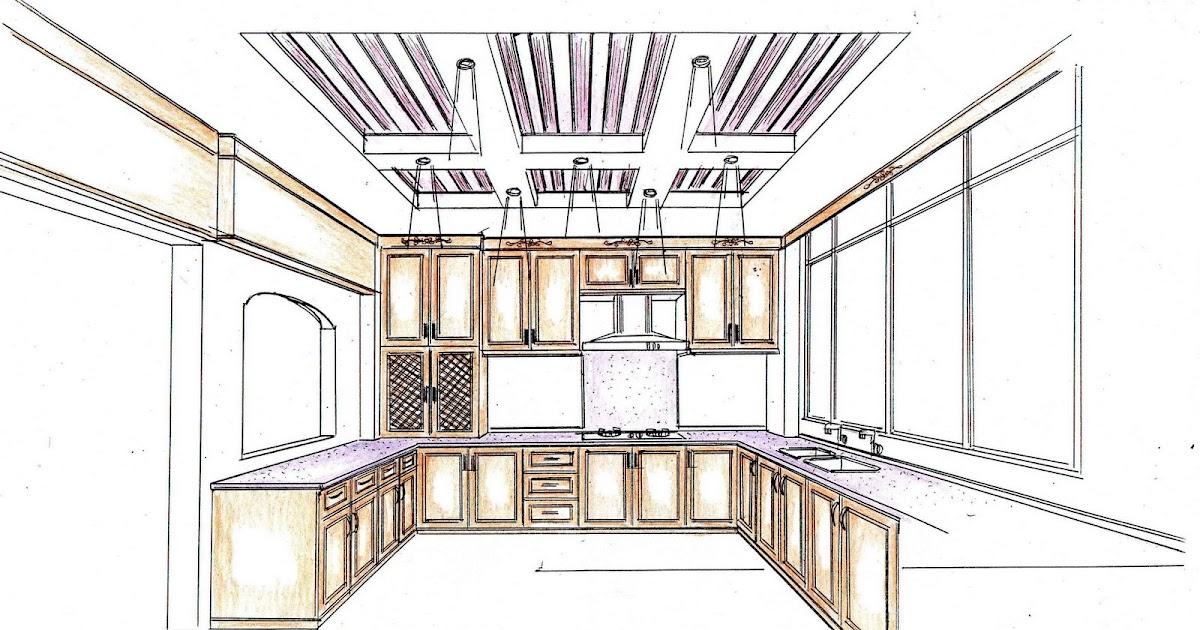 panduan kabinet dapur mahir aksesori pelan rekabentuk