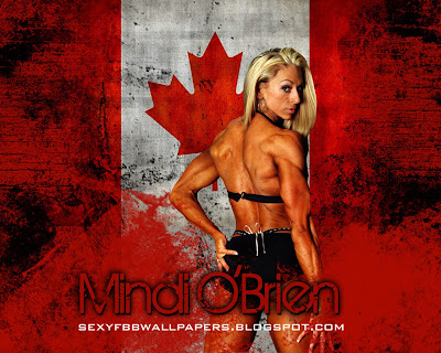 Mindi O'Brien 1280 by 1024 wallpaper