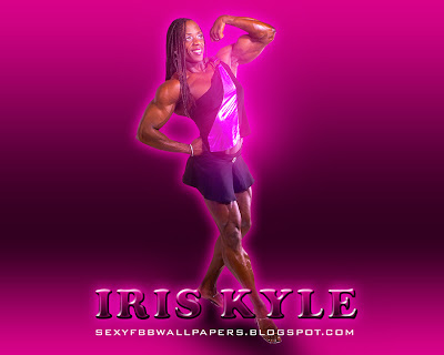 Iris Kyle 1280 by 1024 wallpaper